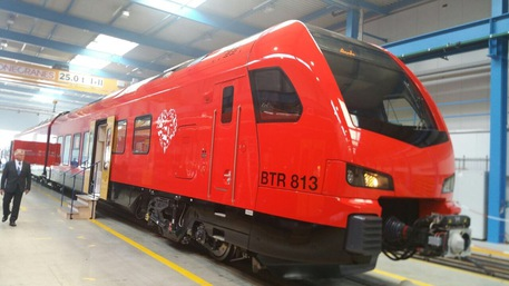Presentato primo treno bimodale per Aosta-Torino